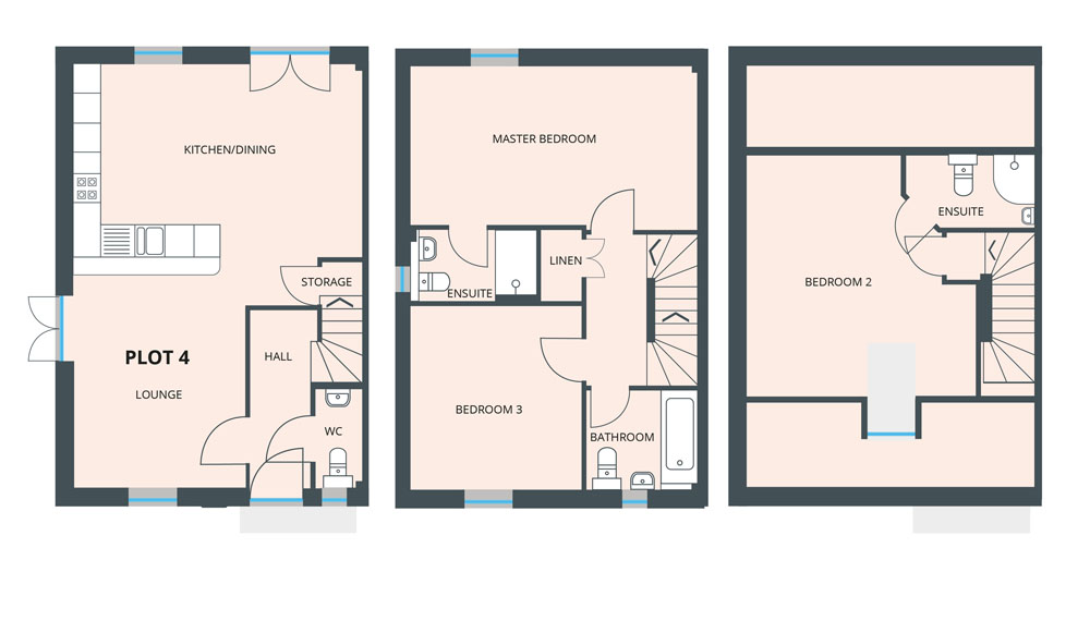Floorplan for Plot 4