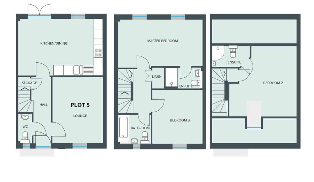 Floorplan for Plot 5