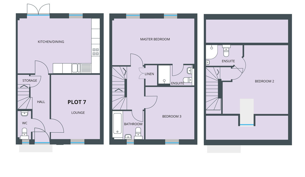 Floorplan for Plot 7