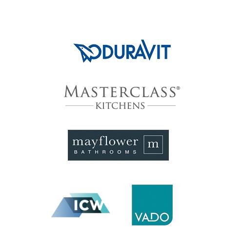 Supplier logos for Belvedere House