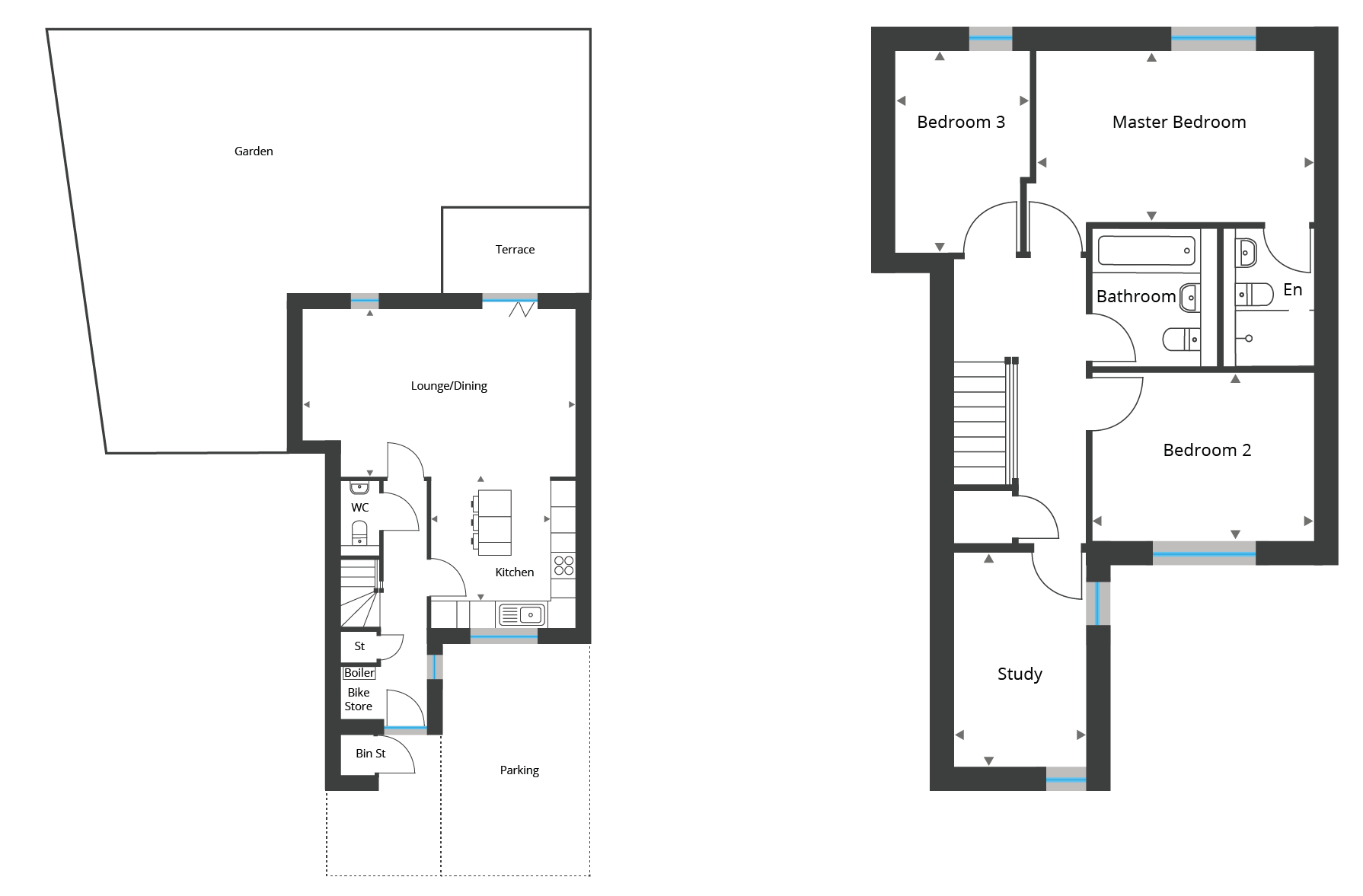 Floorplan for Town House 10