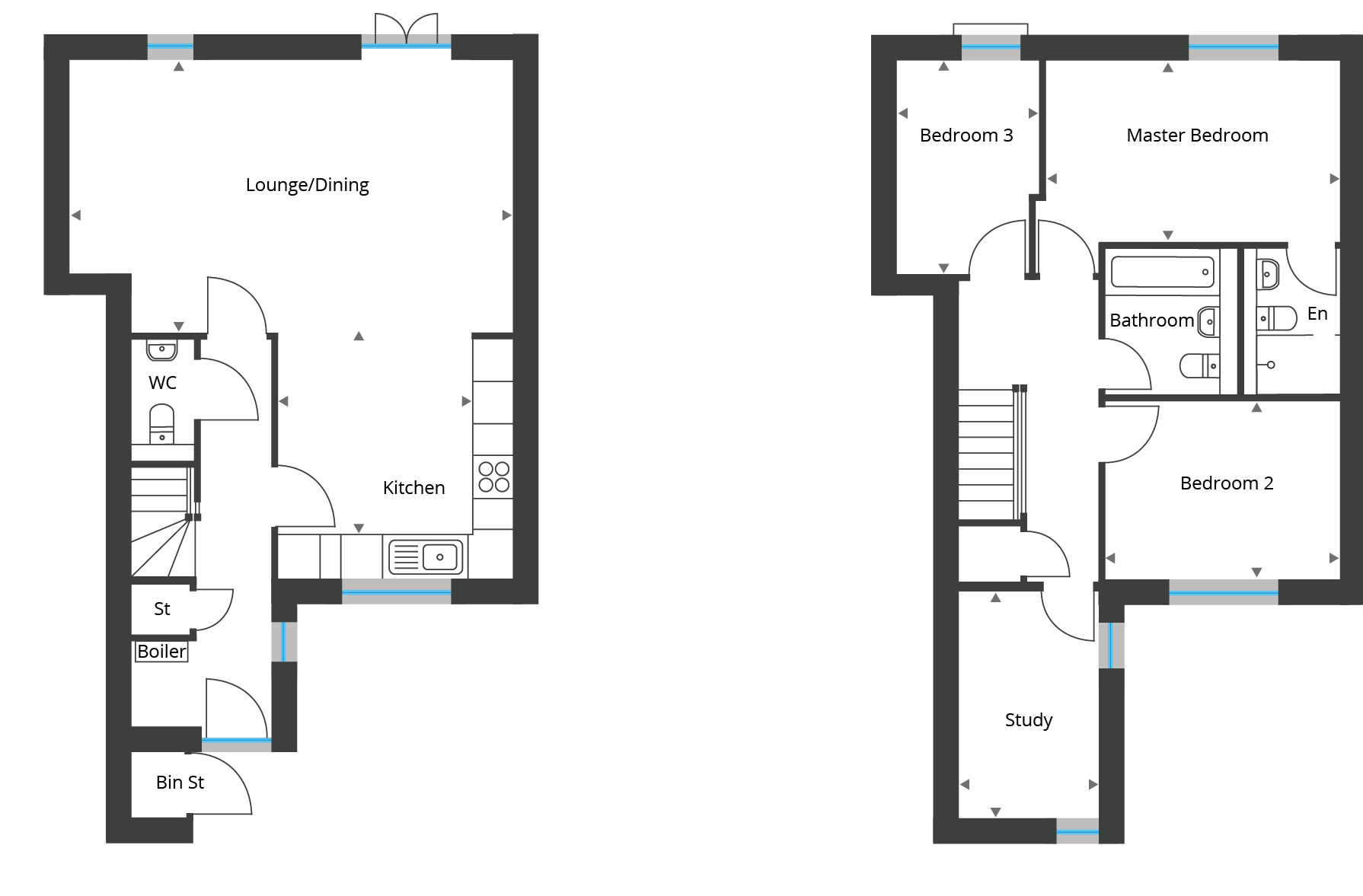 Floorplan for Town House 10