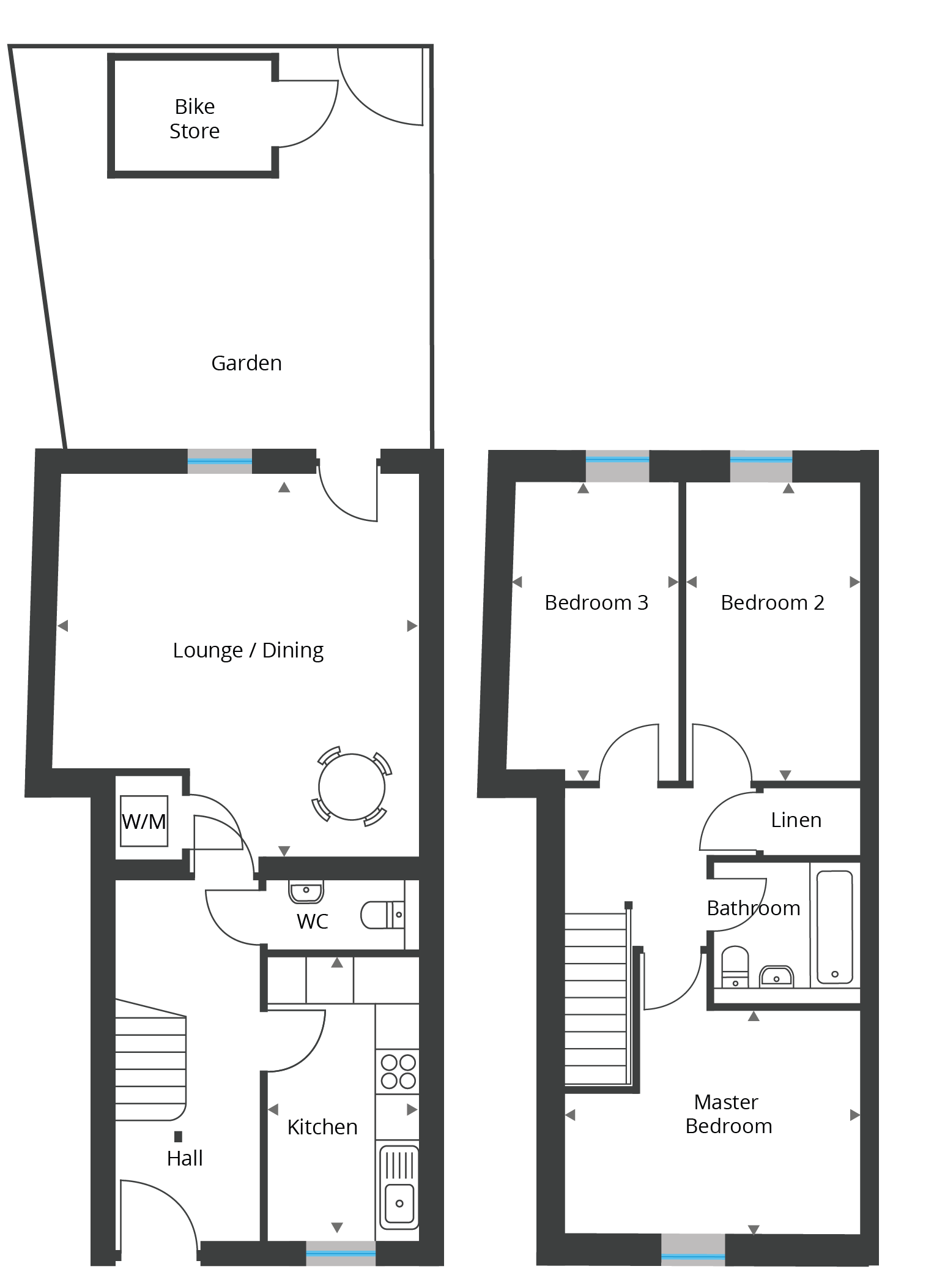 Floorplan for Unit 11