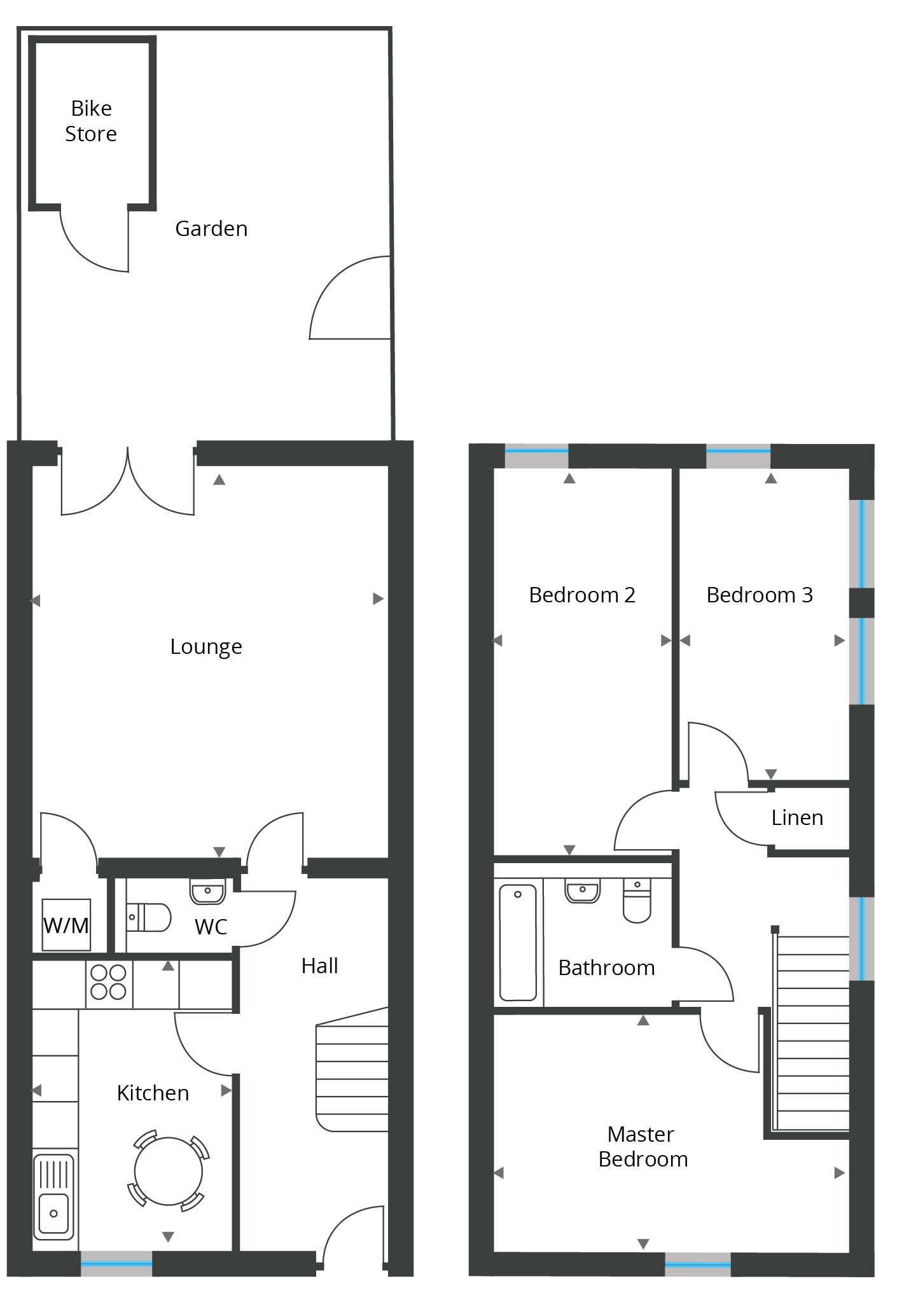 Floorplan for Unit 13